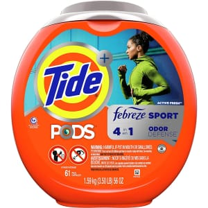 Tide Pods at Amazon: Extra 15% off + 5% off via Sub & Save