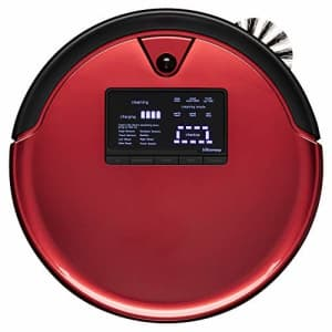 bObsweep PetHair Plus Robotic Vacuum Cleaner and Mop, Rouge for $1,215