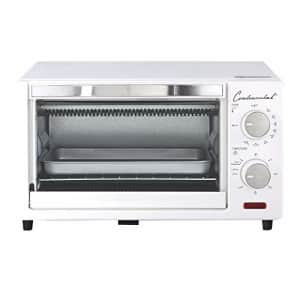 Continental Electric CE-TO101 Toaster Oven, 4-Slice, White for $60