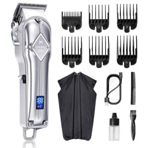 Limural Cordless Hair Clipper Kit for $47
