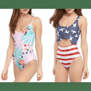 True Craft Women's One-Piece Swimsuit for $18