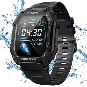 Kospet Men's Smart Watch for $34