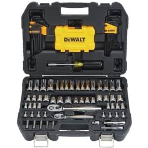DeWalt 108-Piece Mechanics Tool Set for $59