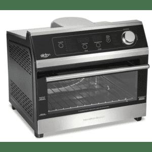 Hamilton Beach 1800W 6-Slice Black Digital Air Fry Toaster Oven for $190