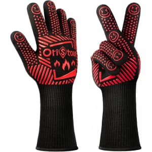 OriStout Extreme Heat Resistant Gloves for $13
