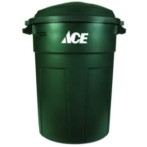 Ace Hardware 32-Gallon Plastic Garbage Can for $18 for members