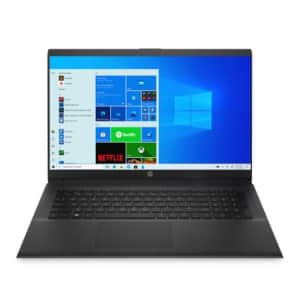 """HP 11th-Gen. i7 17.3"""" Laptop for $712"""