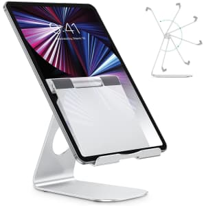 Omoton Adjustable Tablet Stand for $10