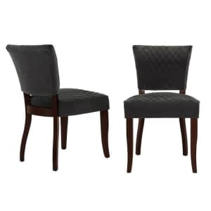 Home Decorators Collection Cline Upholstered Dining Chair 2-Pack for $200