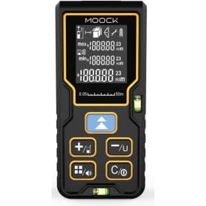 M Moock 165-Foot Laser Measure for $16