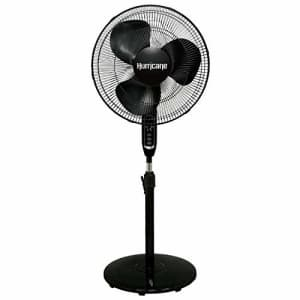 Hurricane Pedestal Fan - 16 Inch, Supreme Series, 90 Degree Oscillation With Remote Control 3 Speed for $43