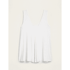 Old Navy Women's Breathe On Tie-Back Tank Top for $8