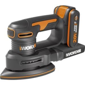 Worx 20V Powershare Detail Sander for $100