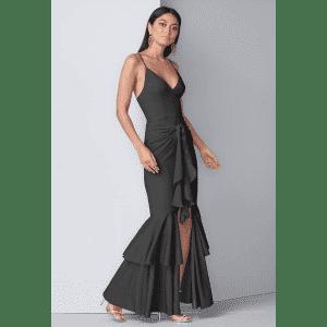 Venus Women's Ruffle Detail Gown for $30