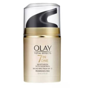 Olay Total Effects 7 in One Moisturizer with Suncreen for $6