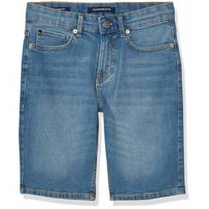 Calvin Klein Boys' Stretch Denim Short, Cabana Blue, 5 for $38