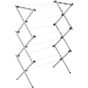 Honey-Can-Do Deluxe Metal Collapsible Clothes Drying Rack for $28