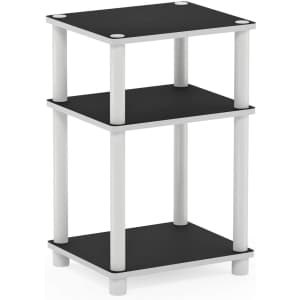Furinno Just 3-Tier End Table for $15