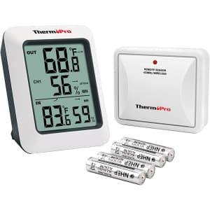ThermoPro Digital Hygrometer for $17
