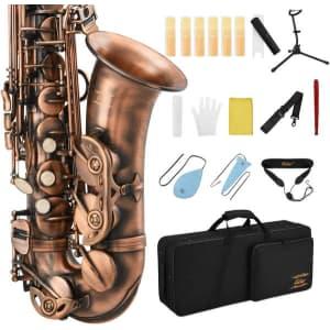 Eastar Student Eb Alto Saxophone w/ Accessory Kit for $238