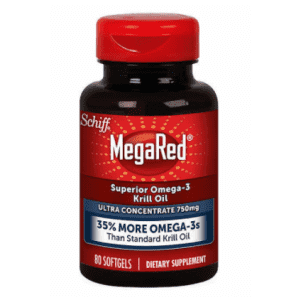 80 Schiff MegaRed 750 mg Omega-3 Krill Oill Softgels: $6 off