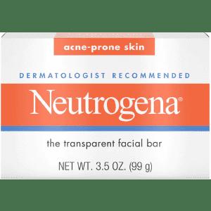 Neutrogena Glycerin 3.5-oz. Facial Cleansing Bar for 49 cents