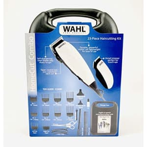 Wahl HomeCut Combo 23 Piece Complete Haircutting Kit for $30