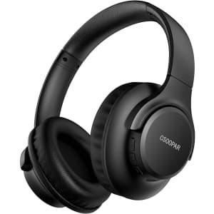 Csoopar Over-Ear Bluetooth 5.0 Headphones for $15