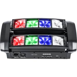 Zkymzl Spider LED Moving Head Light for $48