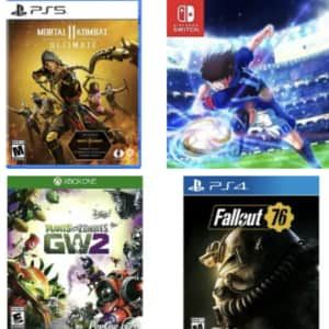 Video Games at eBay: up to 84% off + extra 15% off $25