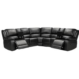 Magic Home 3-Piece Reclining Sectional Sofa for $1,874