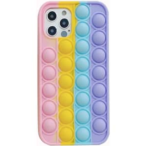 Zibnwee Pop Bubble Silicone Case for iPhone 11 for $6