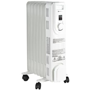 Comfort Zone 1,200W Convection Radiator Heater for $48