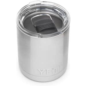 Yeti Rambler 10-oz. Insulated Tumbler for $15
