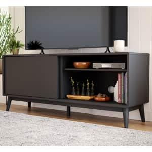 """Brookside Madison 58"""" Mid-Century Modern TV Stand for $181"""
