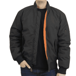 Men's Heavyweight Bomber Jacket from $25 w/ Prime