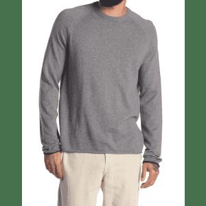 Amicale Men's Cotton & Cashmere Blend Raglan Sleeve Sweatshirt for $18