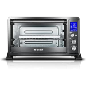 Toshiba Digital Convection 6-Slice Toaster Oven for $80