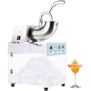 Vivohome Stainless Steel Electric Ice Shaver / Snow Cone Machine for $194