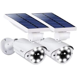 BNT Solar LED Flood Light 2-Pack for $130