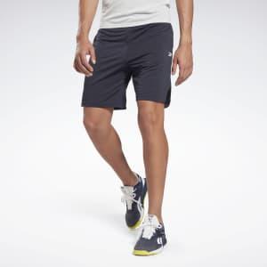 Reebok Men's Workout Ready Melange Shorts for $12