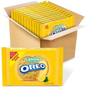 Oreo Lemon Creme 20-oz. Sandwich Cookies 12-Pack for $31 via Sub & Save