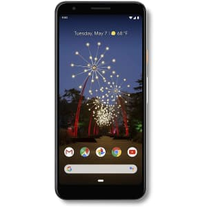 Unlocked Google Pixel 3a 64GB Android Smartphone for $320