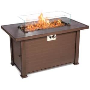 """Topshak 44"""" Gas Fire Pit Table for $200"""