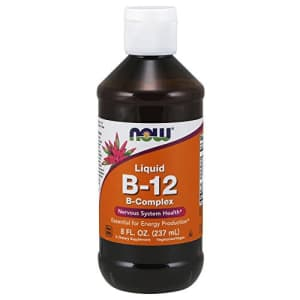 Now Foods NOW Supplements, Vitamin B-12 Complex Liquid, Energy Production*, Nervous System Health*, 8-Ounce for $25