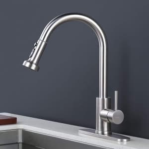 Iviga Pull Down Kitchen Faucet for $29