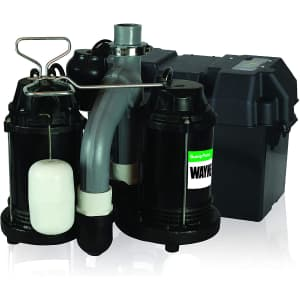 Wayne Water Systems 1/2-HP Battery Back Up System for $492