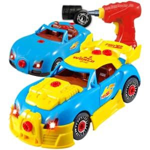 Think Gizmos Kids' DIY Racing Car Kit for $10