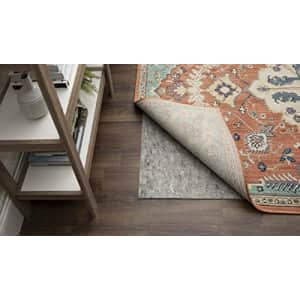 Mohawk Home Dual Surface Felt Non Slip Rug Pad, 6' x 6', 1/4 Inch Thick, Safe for All Floors for $135