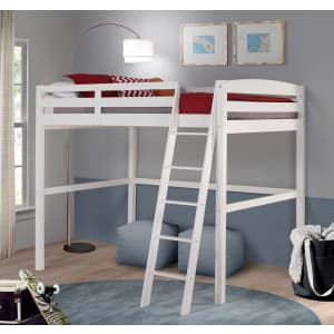 Camaflexi Tribeca-Concord Solid Wood High Loft Twin Bed for $365